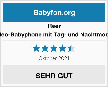 Reer Video-Babyphone mit Tag- und Nachtmodus Test