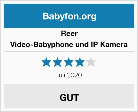 Reer Video-Babyphone und IP Kamera Test