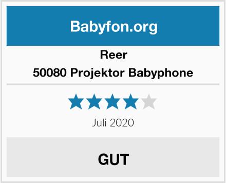Reer 50080 Projektor Babyphone Test