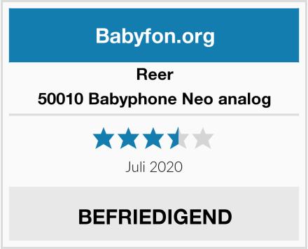Reer 50010 Babyphone Neo analog Test