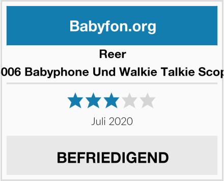 Reer 5006 Babyphone Und Walkie Talkie Scopi Test