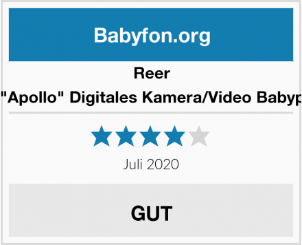 "Reer 8007 ""Apollo"" Digitales Kamera/Video Babyphone Test"