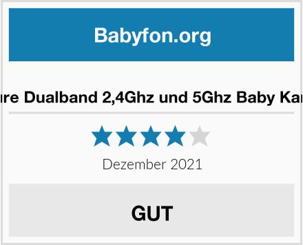 Victure Dualband 2,4Ghz und 5Ghz Baby Kamera Test
