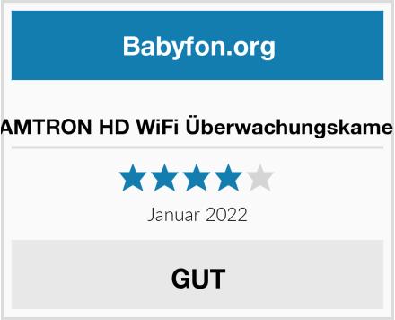 KAMTRON HD WiFi Überwachungskamera Test