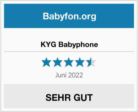 KYG Babyphone Test