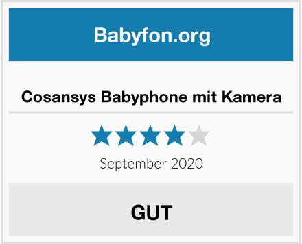 Cosansys Babyphone mit Kamera Test