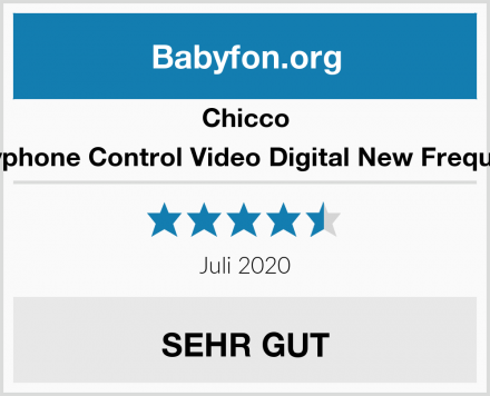 Chicco Babyphone Control Video Digital New Frequency Test