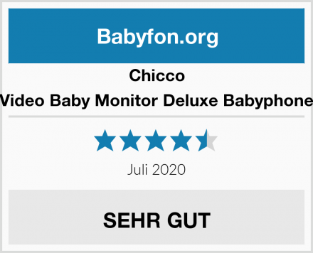 Chicco Video Baby Monitor Deluxe Babyphone Test