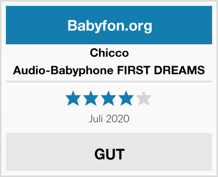 Chicco Audio-Babyphone FIRST DREAMS Test