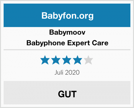 Babymoov Babyphone Expert Care Test