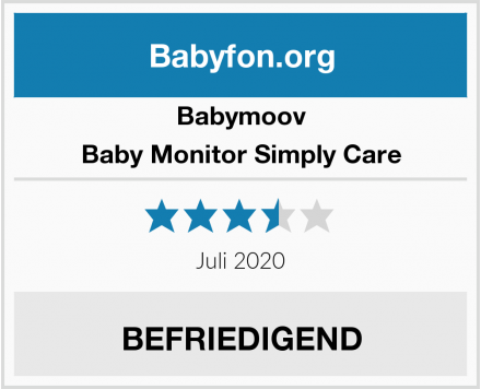 Babymoov Baby Monitor Simply Care Test