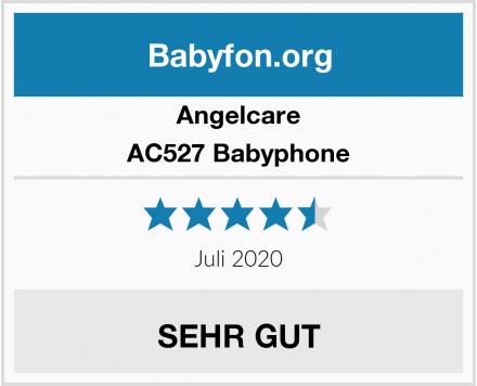 Angelcare AC527 Babyphone Test