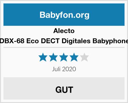 Alecto DBX-68 Eco DECT Digitales Babyphone Test