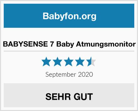 BABYSENSE 7 Baby Atmungsmonitor Test