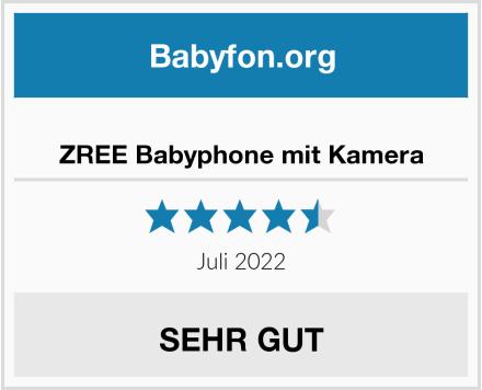 ZREE Babyphone mit Kamera Test