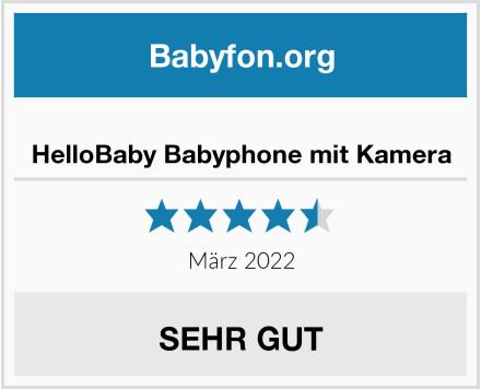 HelloBaby Babyphone mit Kamera Test