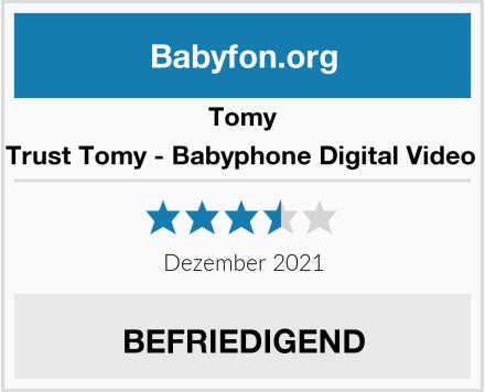 Tomy 71030 - Trust Tomy - Babyphone Digital Video TDV450 Test
