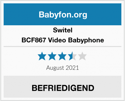Switel BCF867 Video Babyphone Test