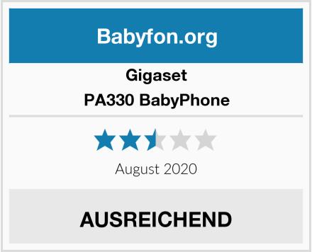 Gigaset PA330 BabyPhone Test