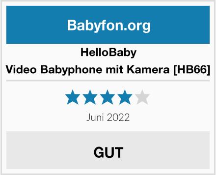 HelloBaby Video Babyphone mit Kamera [HB66] Test
