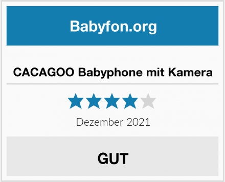 CACAGOO Babyphone mit Kamera Test
