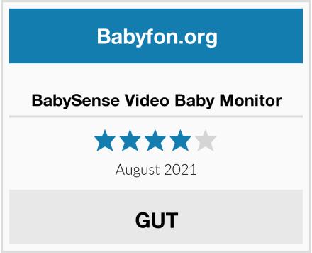 BabySense Video Baby Monitor Test