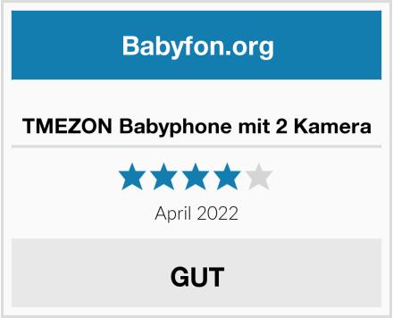 TMEZON Babyphone mit 2 Kamera Test