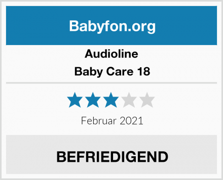 Audioline Baby Care 18 Test