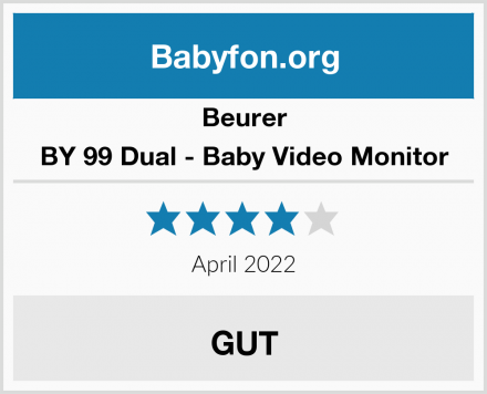 Beurer BY 99 Dual - Baby Video Monitor Test