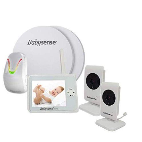 Babysense V35 Babyphone mit Sensormatten und 2 Kameras